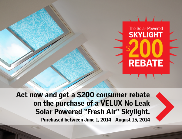 Cazeault Roofing Skylight Velux